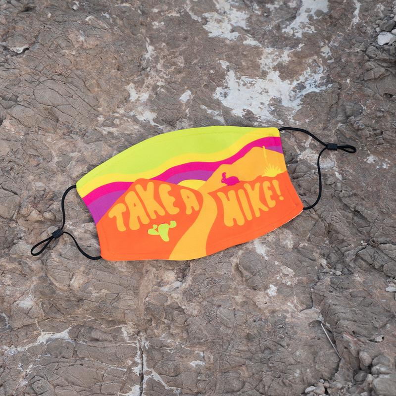 Take a Hike Face Mask