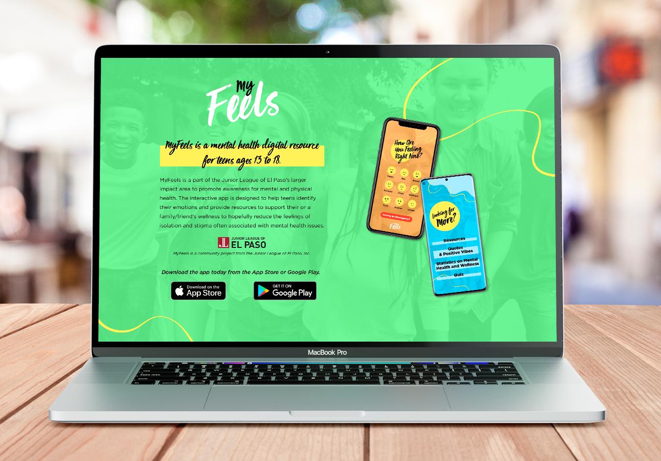 MyFeels Landing Page